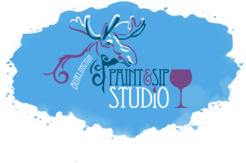 Burlington Paint & Sip Studio Logo